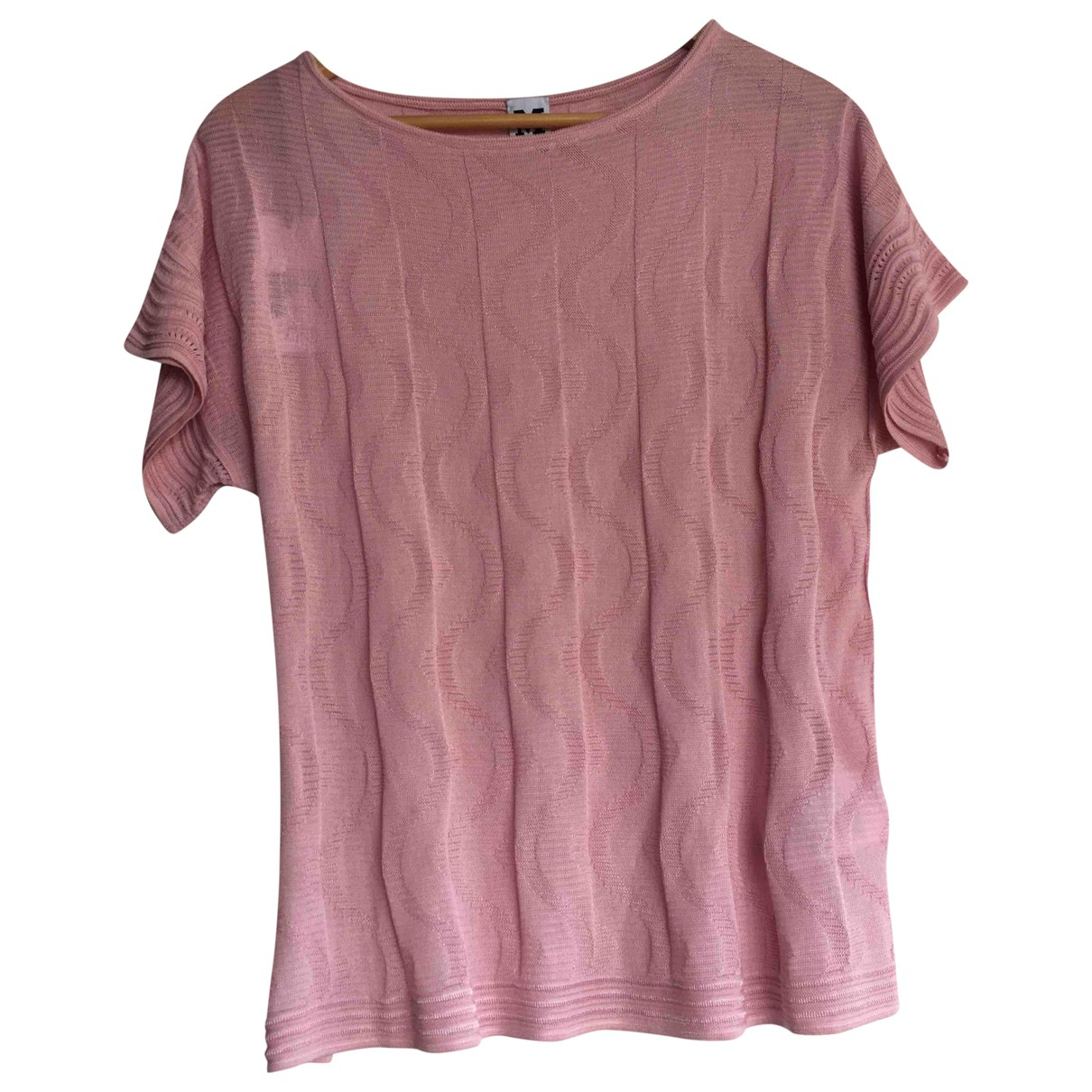 M Missoni \N Pink Cotton  top for Women 46 IT