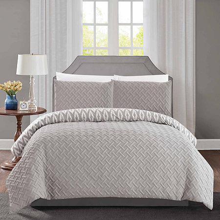 Chic Home Ora Comforter Set, One Size , Silver