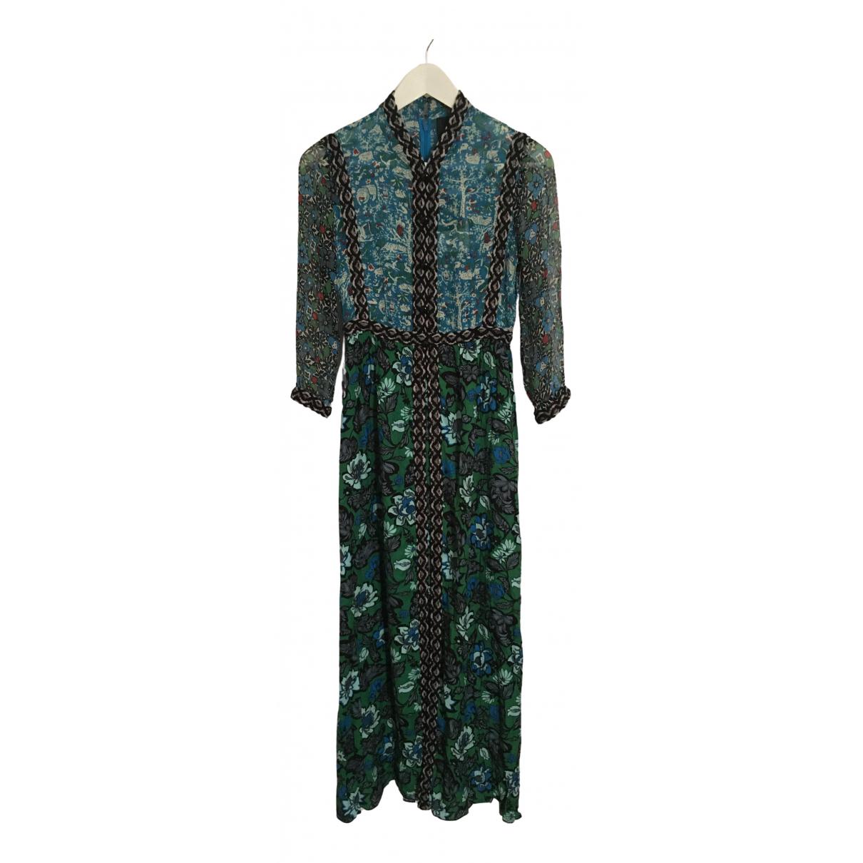 Anna Sui N Multicolour Silk dress for Women 36 FR