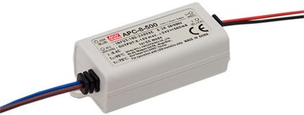 Mean Well APC-8 AC-DC, DC-DC Constant Current LED Driver 8W 8 → 16V