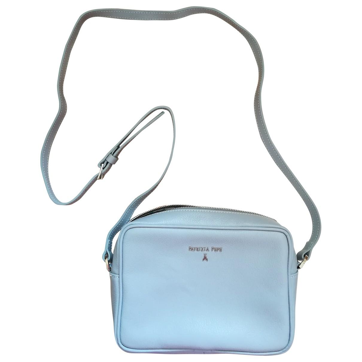 Patrizia Pepe \N Handtasche in  Blau Leder