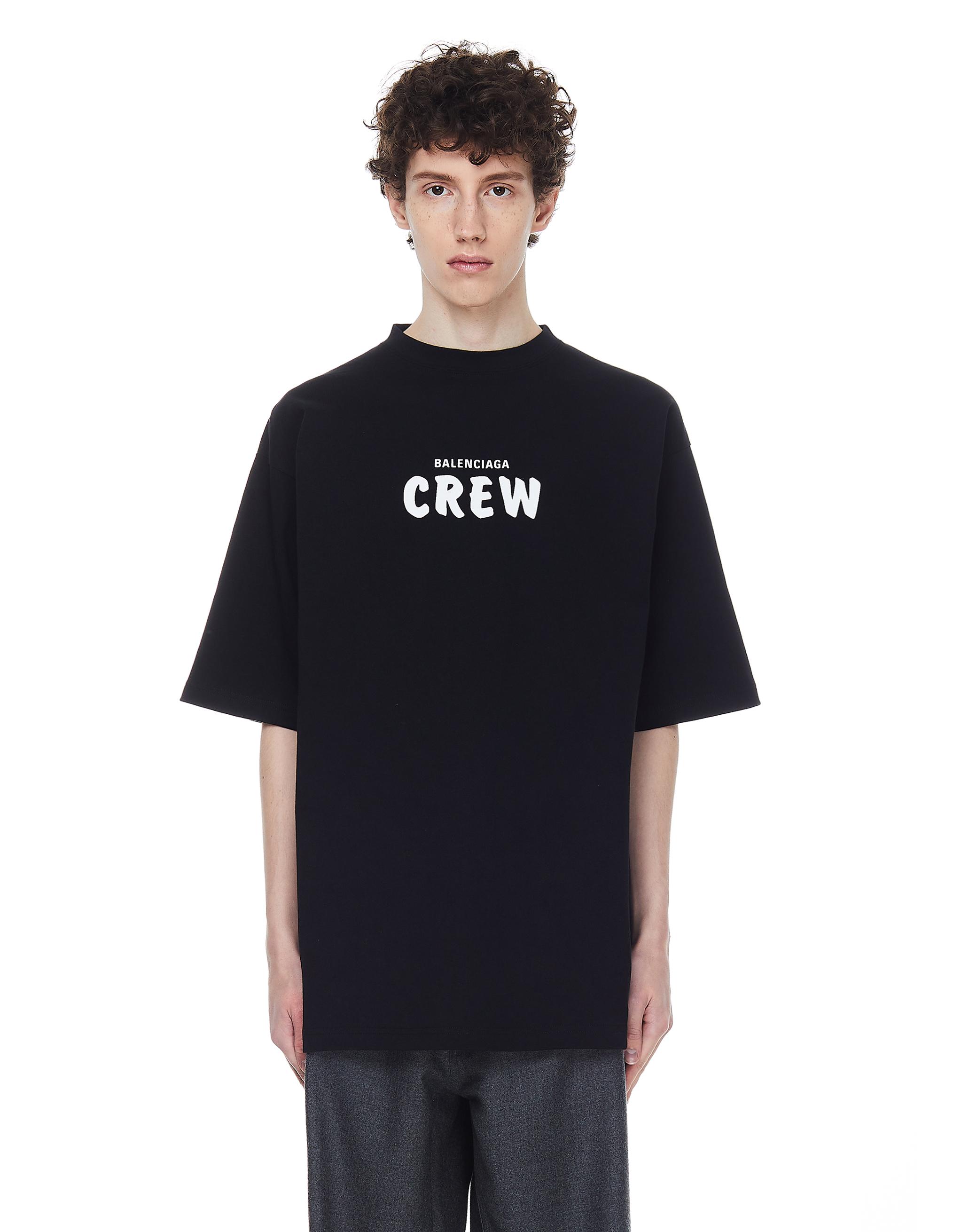 Balenciaga Oversize Balenciaga Crew T-shirt