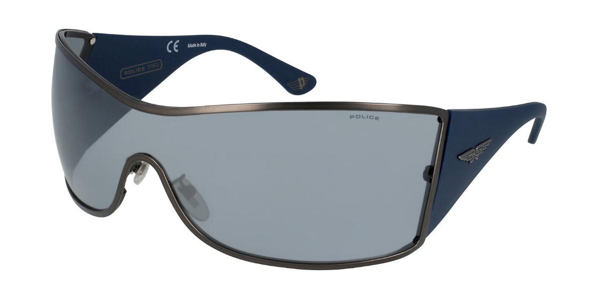 Police S8103V ORIGINS 9 627X Mens Sunglasses Grey Size Standard