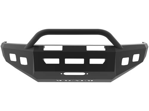 Tacoma Front Winch Bumper 05-14 Tacoma Dbl 3.5inch Square Light Holes Magnum PR Series ICI Innovative Creations FBM90TYN-PR