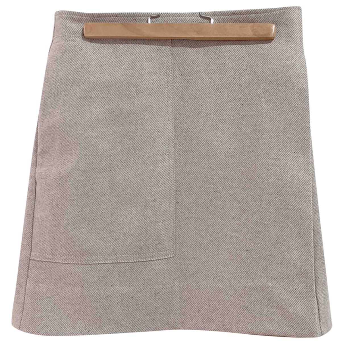 Cos - Jupe   pour femme en laine - gris