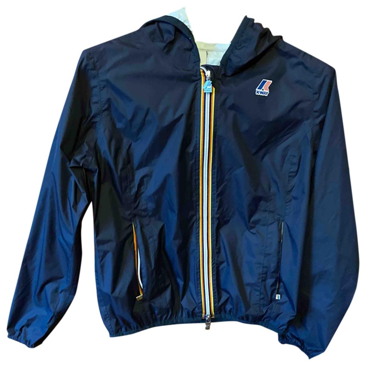K-way - Blousons.Manteaux   pour enfant - bleu