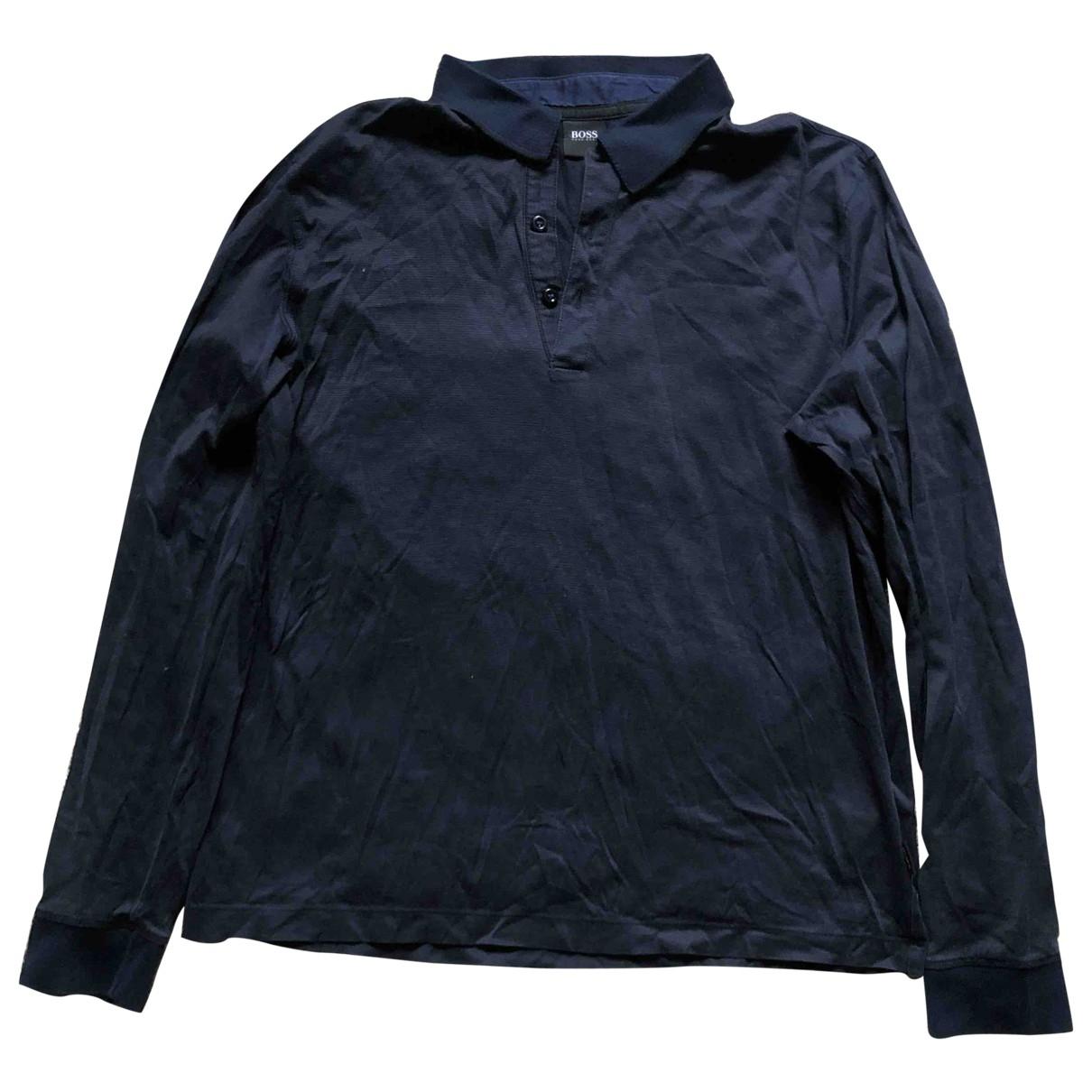 Hugo Boss \N Navy Cotton Polo shirts for Men S International