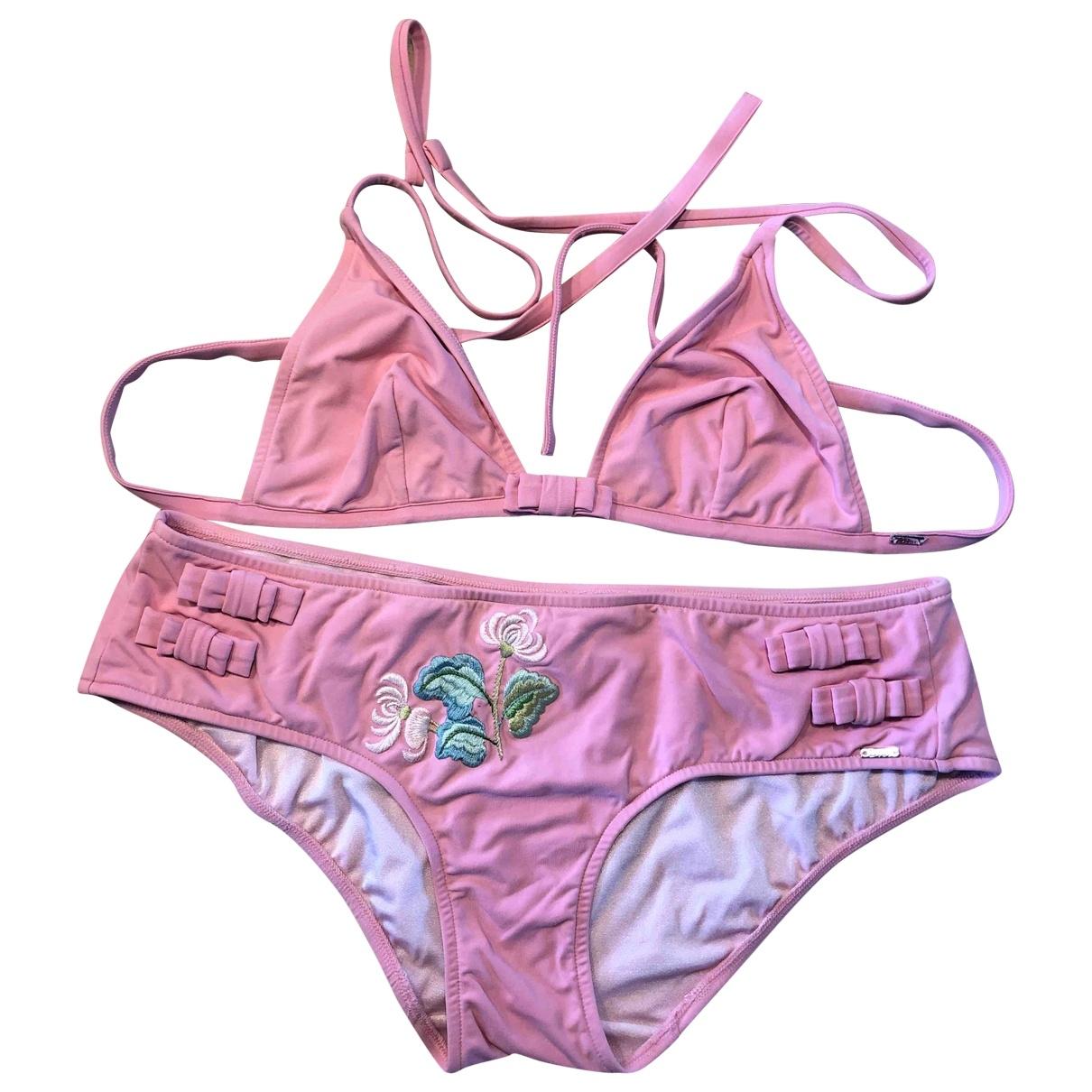 Dior - Bain   pour femme en lycra - rose