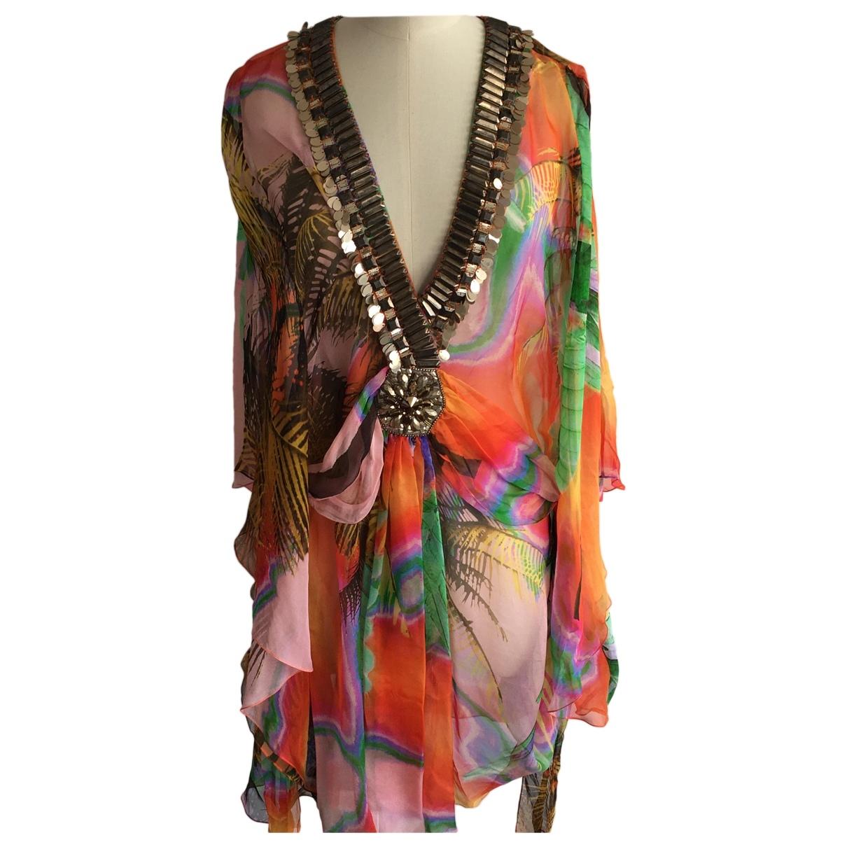 Matthew Williamson \N Multicolour Silk dress for Women 14 UK