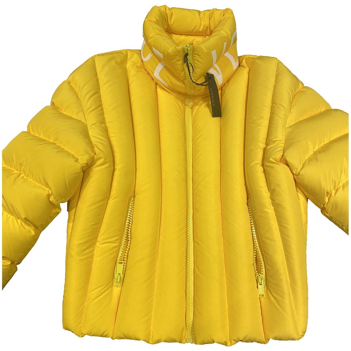 Versace \N Maentel in  Gelb Polyester