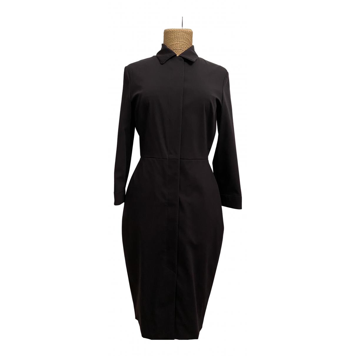 Max Mara \N Kleid in  Marine Wolle