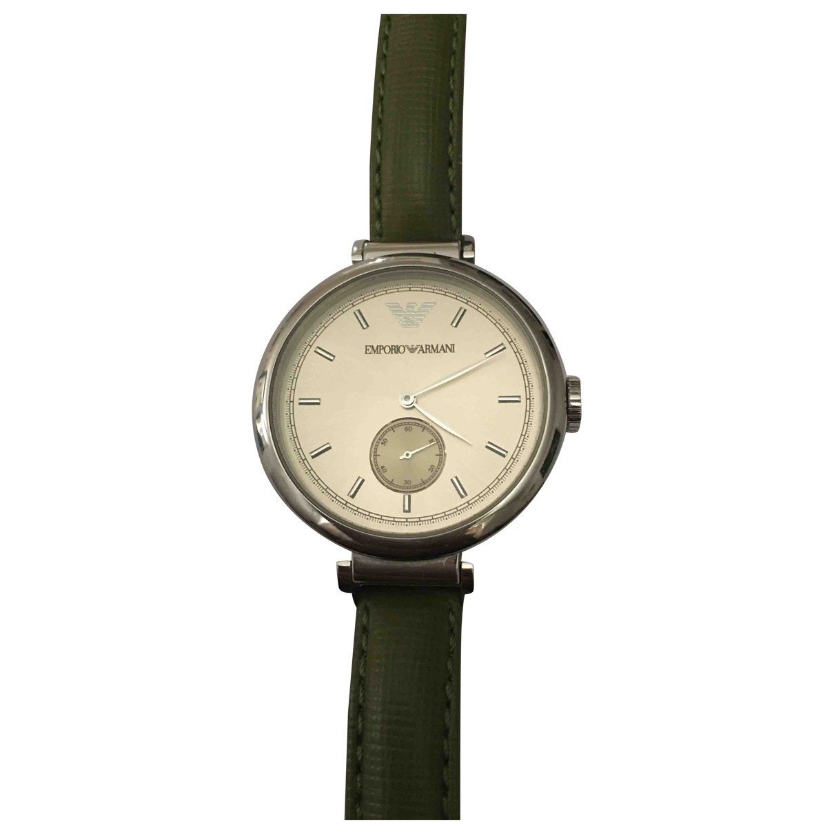 Emporio Armani \N Green Steel watch for Women \N