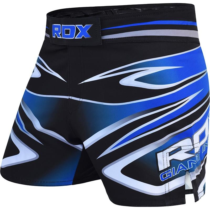 RDX R9 MMA Entrainement Short Petite Bleu Polyester
