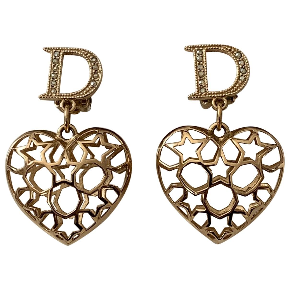 Dior - Boucles doreilles My Dior pour femme en metal - dore