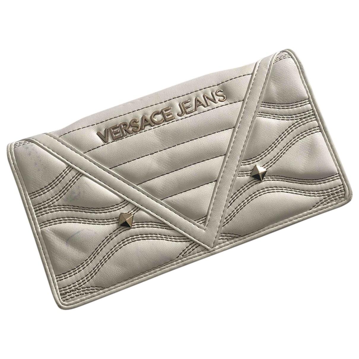 Versace Jean - Sac a main   pour femme en cuir - blanc
