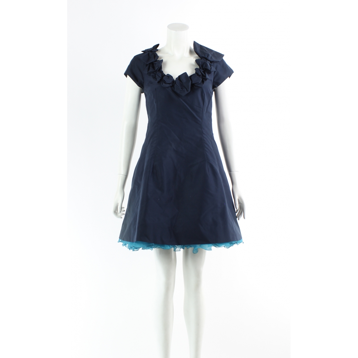 Marc Jacobs \N Navy Silk dress for Women 4 US