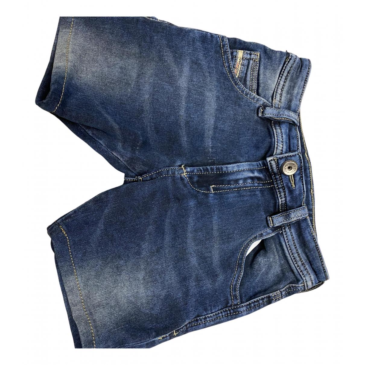 Diesel \N Shorts in  Blau Denim - Jeans