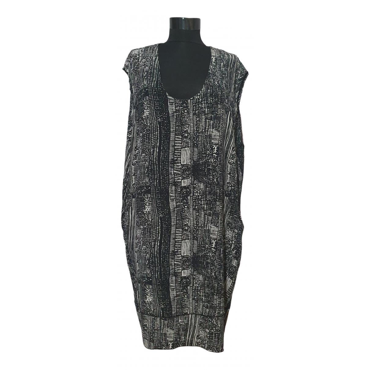 By Malene Birger \N Black Silk dress for Women 40 FR