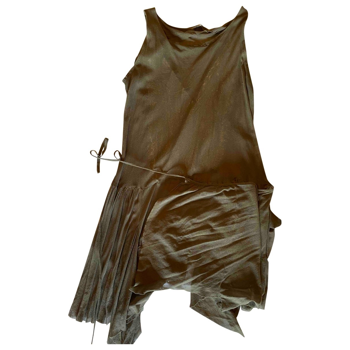 Preen - Robe   pour femme en coton - beige
