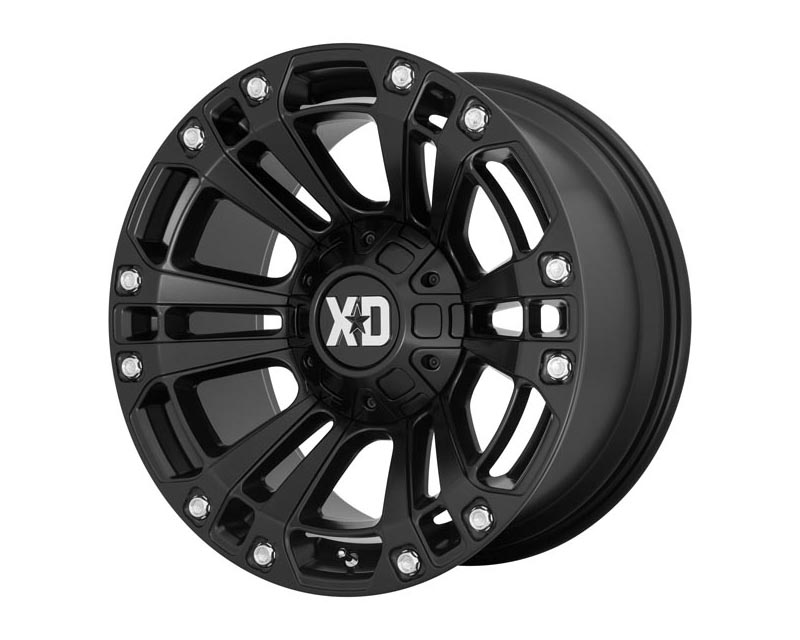 XD Series XD85129080700 XD851 Wheel 20x9 8X6.5 0mm Satin Black