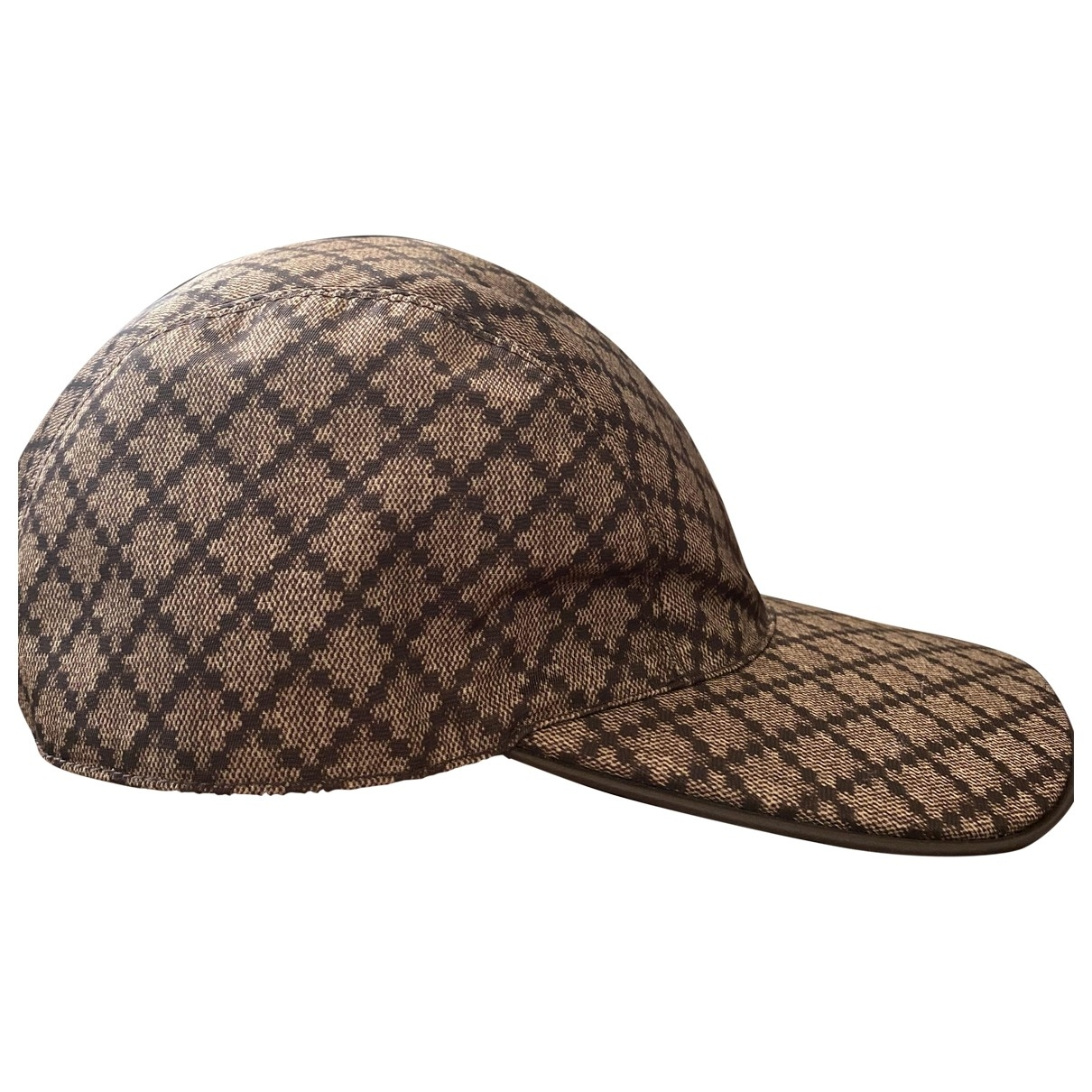 Gucci \N Brown Cotton hat & pull on hat for Men 57 cm