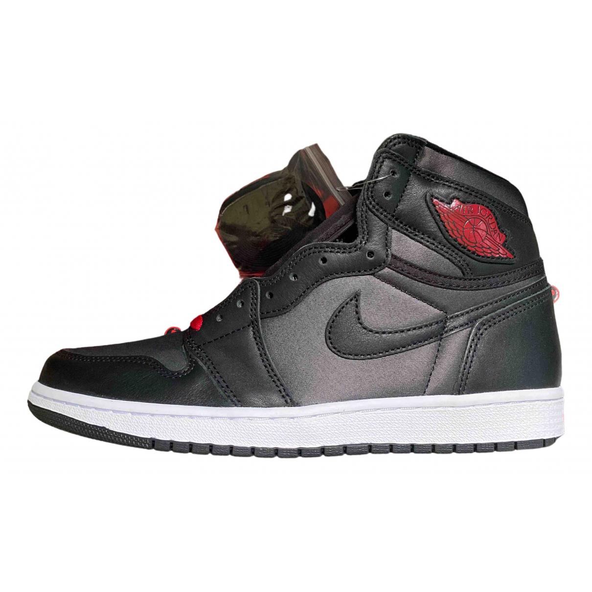 Jordan - Bottes.Boots Air Jordan 1  pour homme en fourrure synthetique