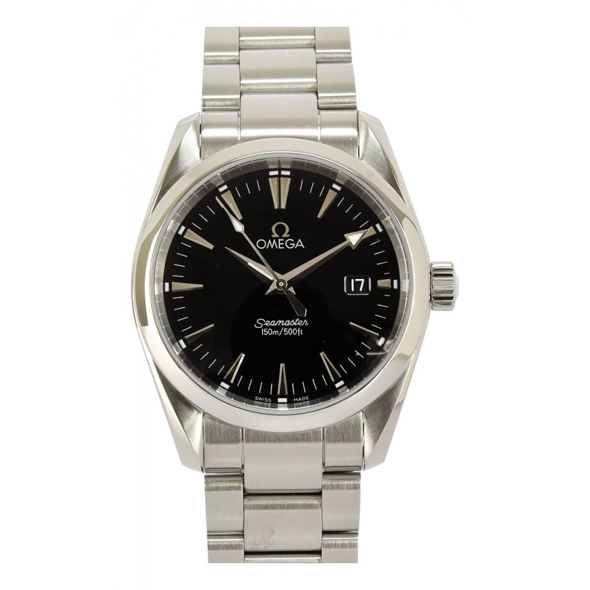 Omega Seamaster Aquaterra Uhr in  Schwarz Stahl