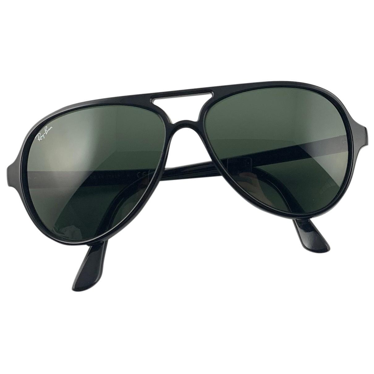 Ray-ban Aviator Black Sunglasses for Women N