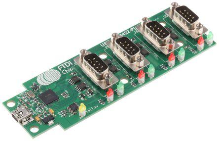 FTDI Chip USB to RS422 (Quad) Adapter Board - USB-COM422-Plus4