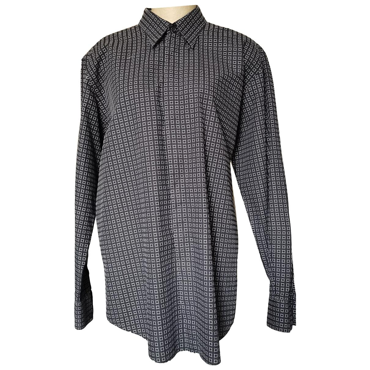 Versace \N Hemden in  Schwarz Baumwolle