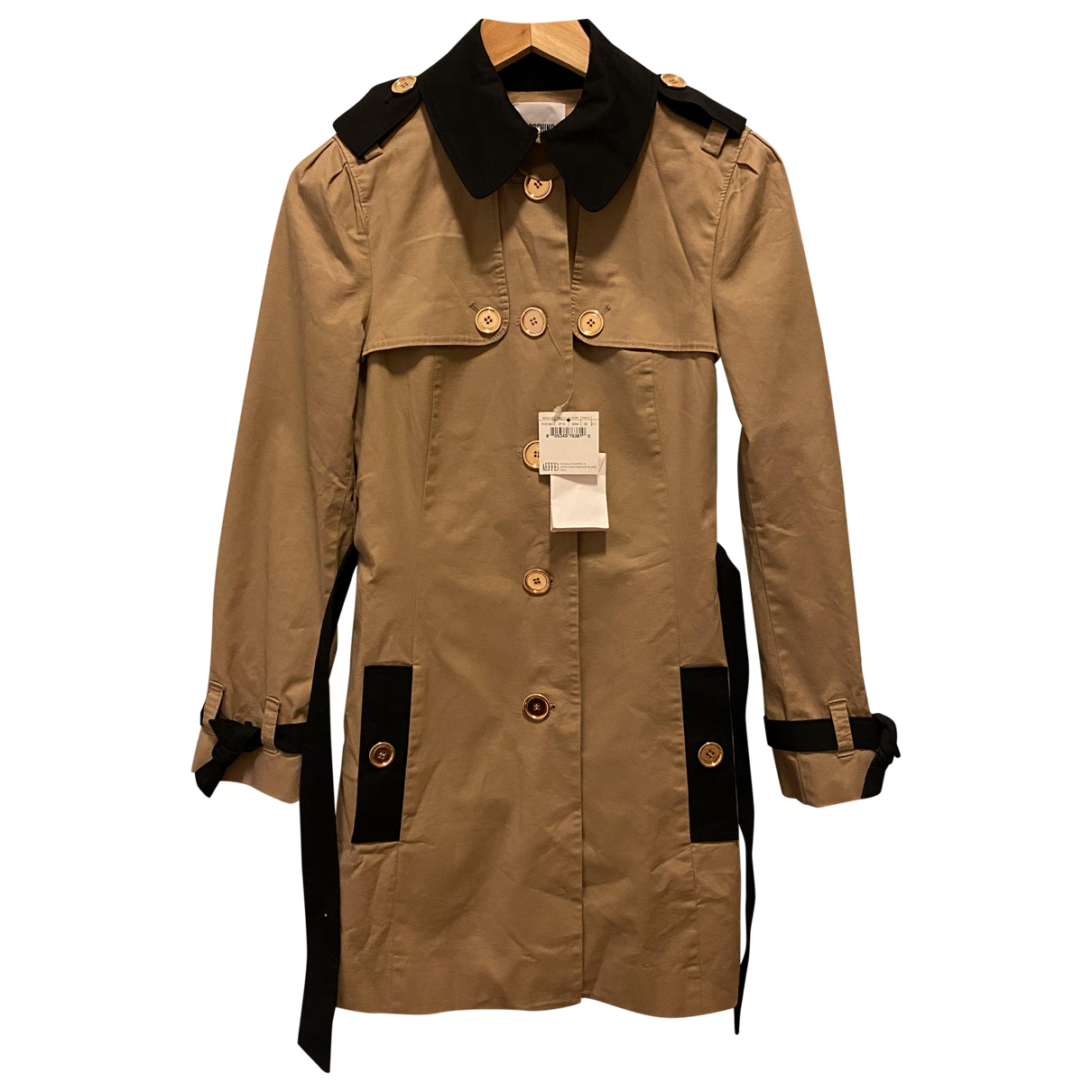 Moschino Cheap And Chic \N Trench in  Braun Baumwolle