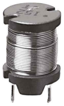 Panasonic 1.5 mH ±10% Ferrite Leaded Inductor, 640mA Idc, 1.27Ω Rdc, ELC12D (5)