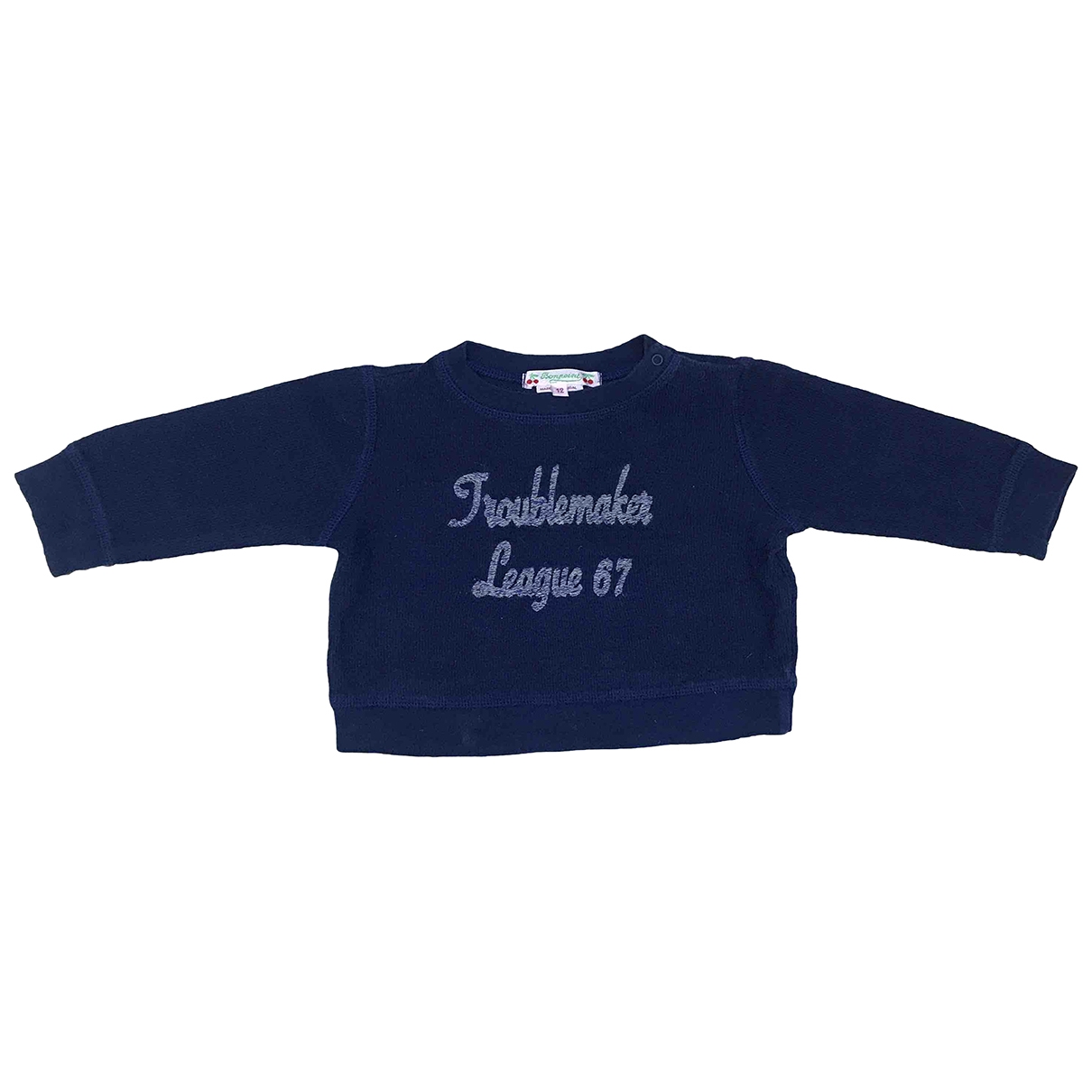 Bonpoint \N Blue Cotton Knitwear for Kids 12 months - up to 74cm FR
