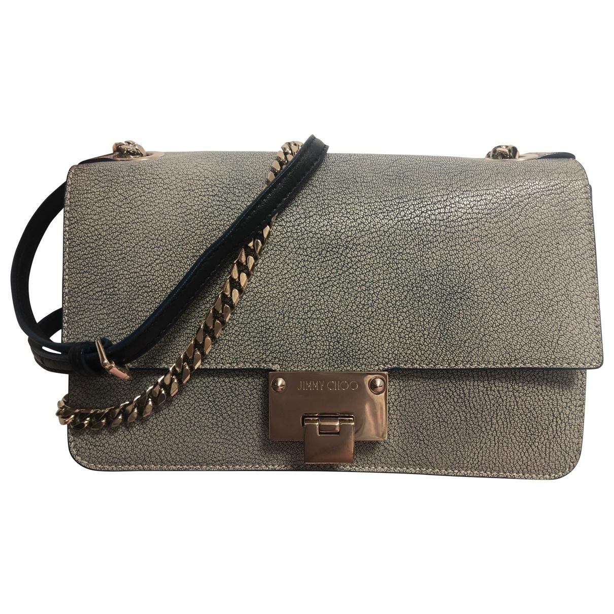 Jimmy Choo Rebel Blue Leather handbag for Women \N