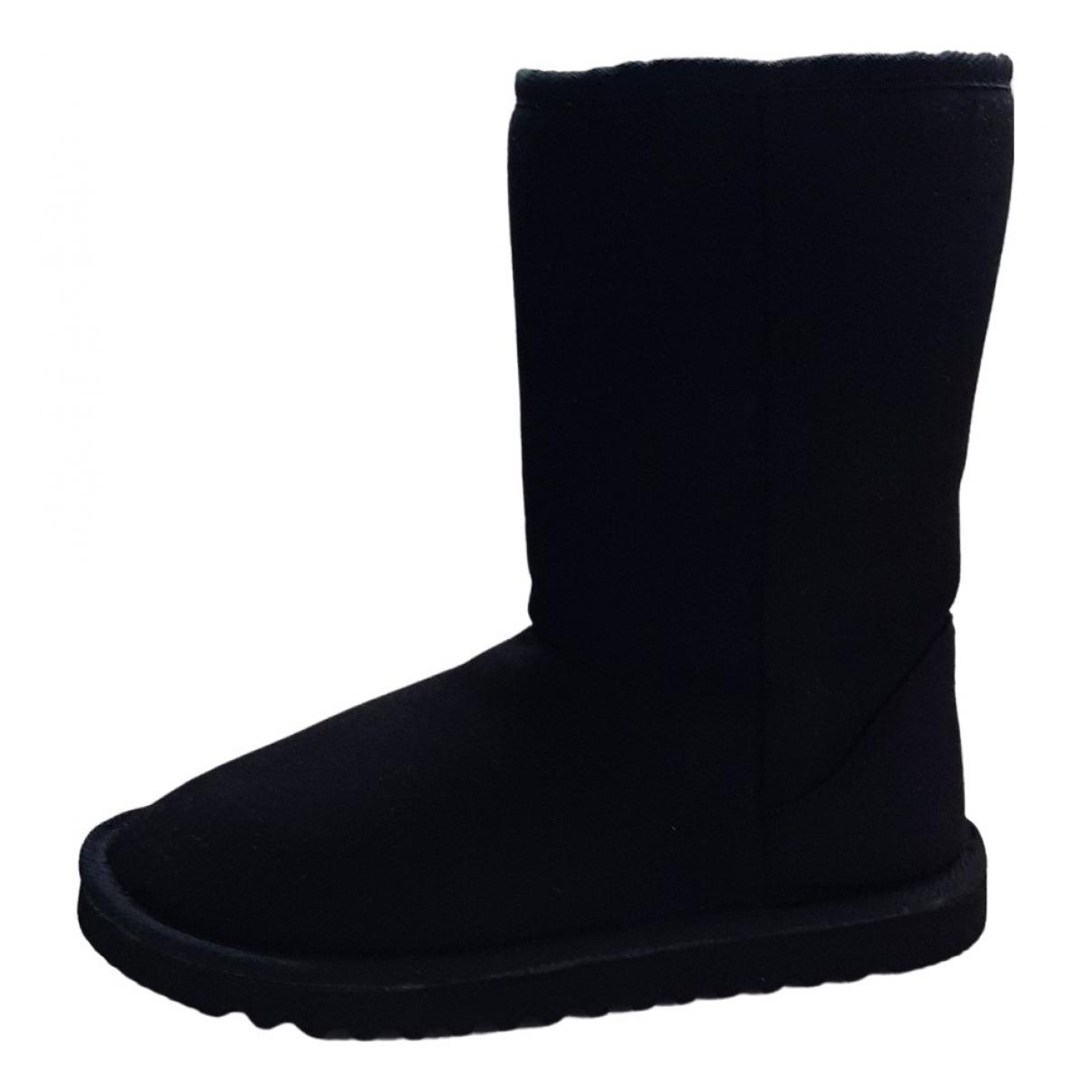Patrizia Pepe N Black Faux fur Boots for Women 36 IT