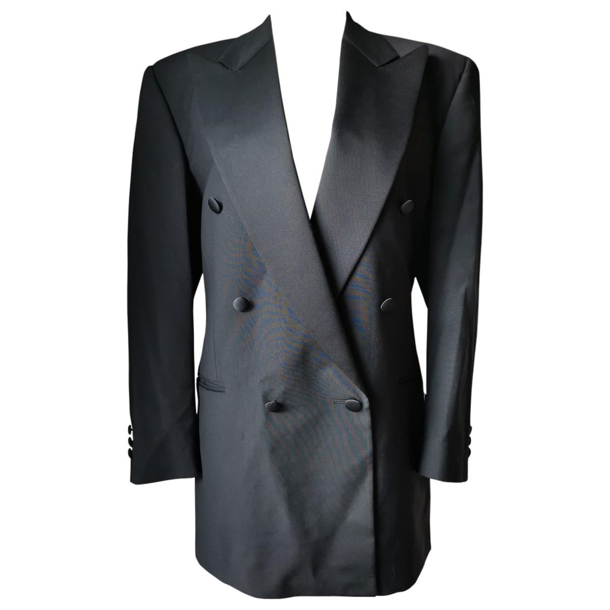 Lanvin N Black Wool jacket for Women 40 FR