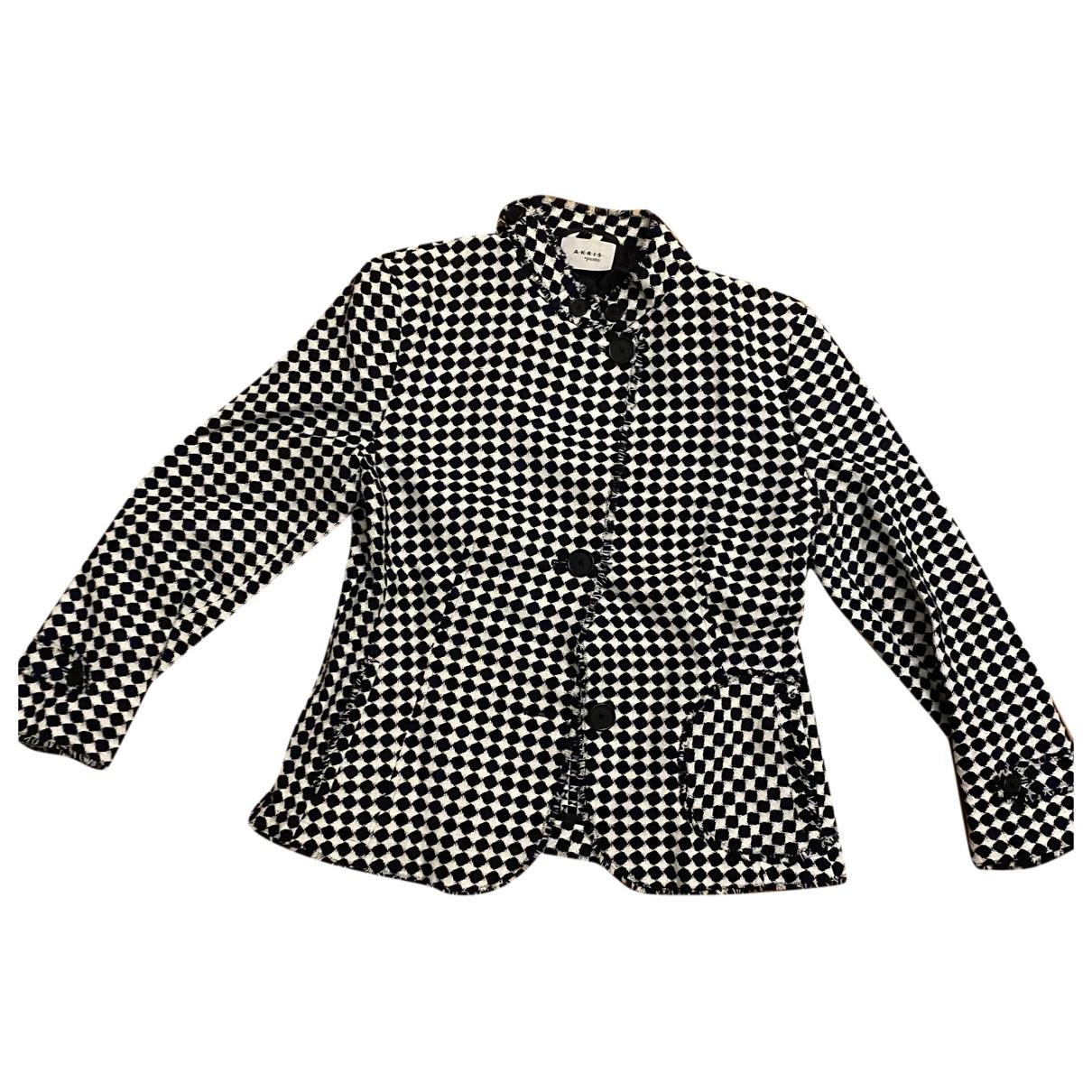 Akris - Veste   pour femme en laine - noir