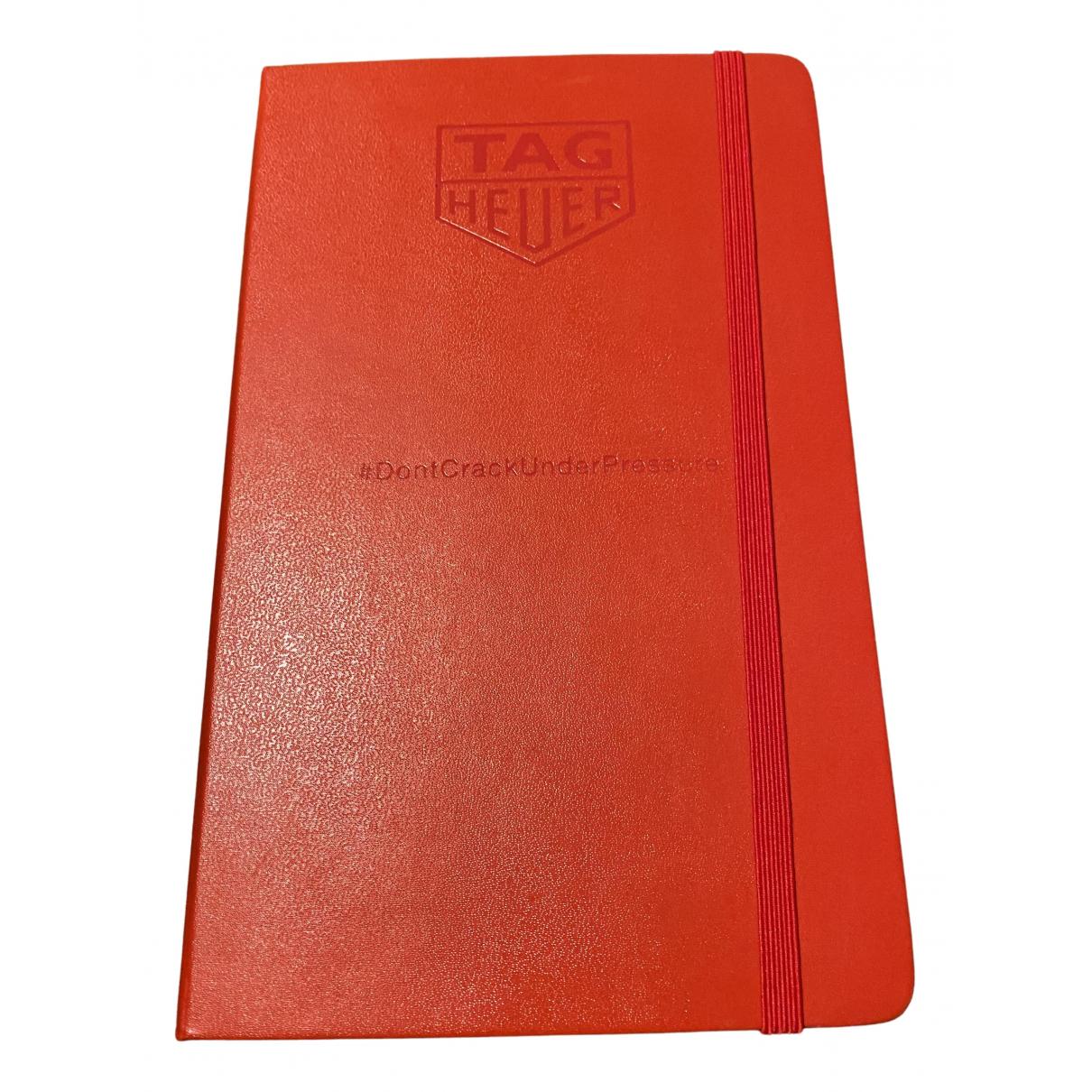 Tag Heuer - Objets & Deco   pour lifestyle en cuir - rouge