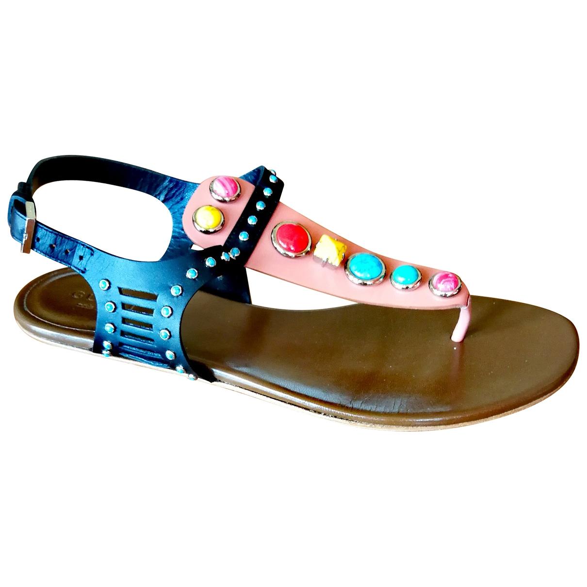 Gucci \N Multicolour Leather Sandals for Women 38 EU