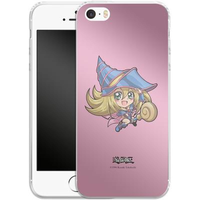 Apple iPhone SE Silikon Handyhuelle - Dark Magician Girl SD von Yu-Gi-Oh!