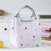 Cartoon Graphic Lunch Bag
