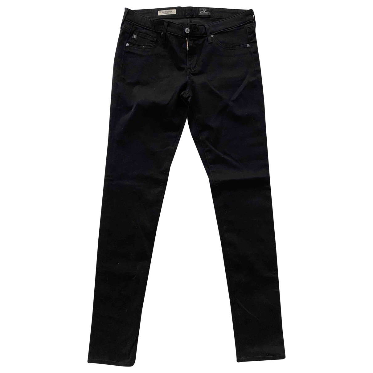 Adriano Goldschmied \N Black Cotton Jeans for Women 28 US