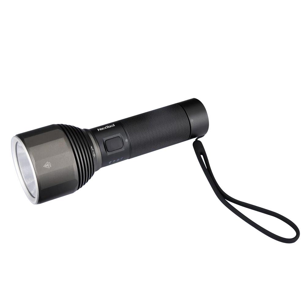 Xiaomi Nextool Outdoor Flashlight Max 2000 Lumen Highlight 5 Models IPX7 - Black