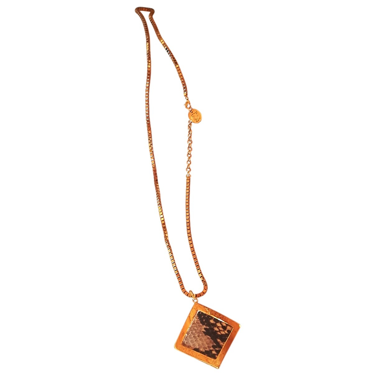 Versace \N Gold Metal necklace for Women \N