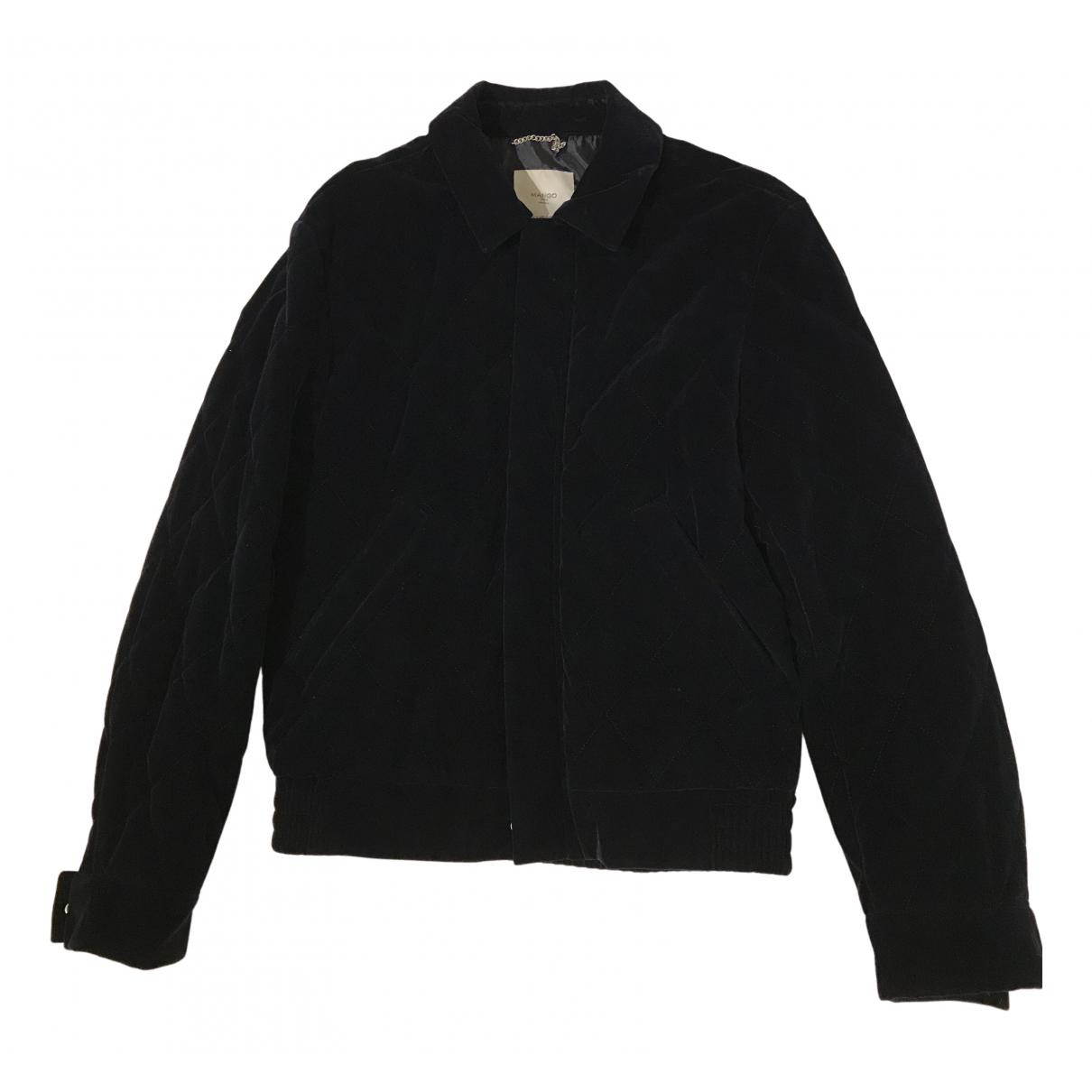 Mango N Navy Velvet jacket  for Men M International