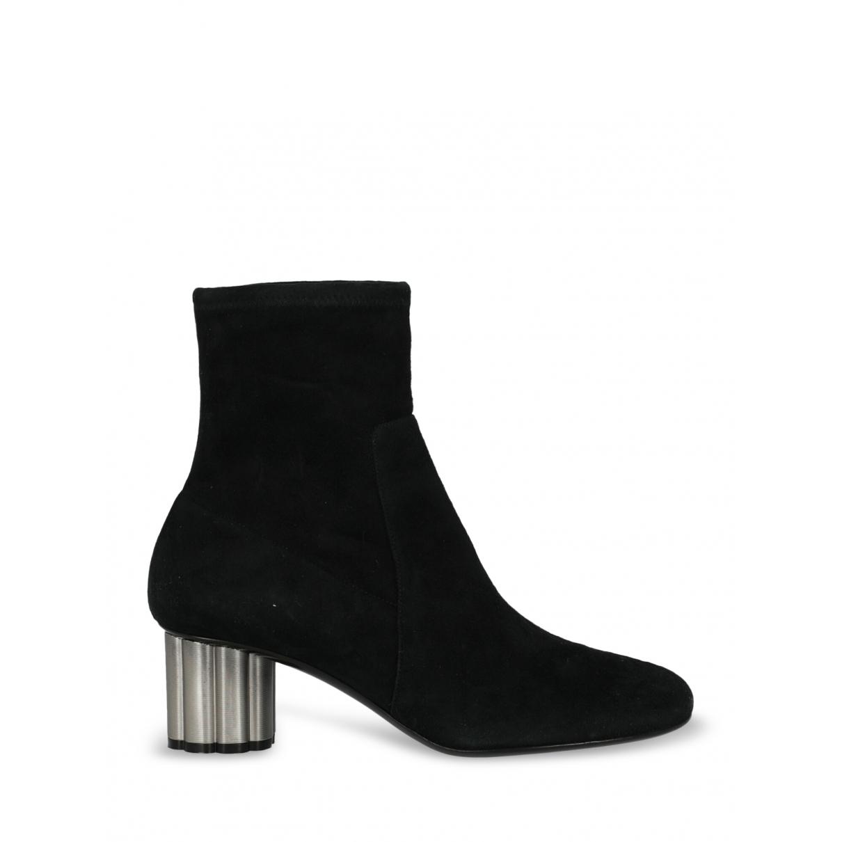 Salvatore Ferragamo - Boots   pour femme en suede - noir