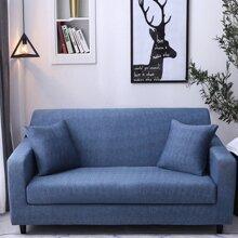 1 Stueck Einfarbiger dehnbarer Sofabezug