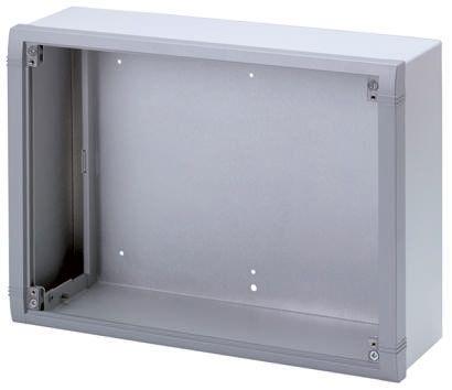 METCASE Datamet Grey Aluminium Project Box, 116 x 350 x 250mm