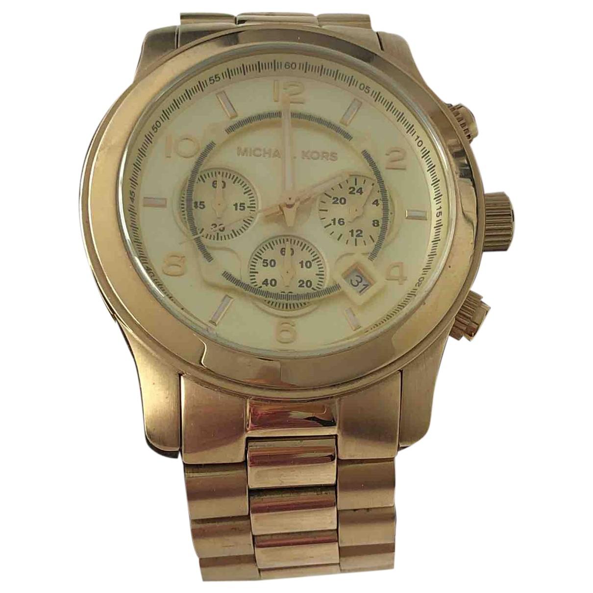 Michael Kors N Gold watch for Men N