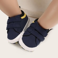 Baby Boy Double Velcro Strap Sneakers